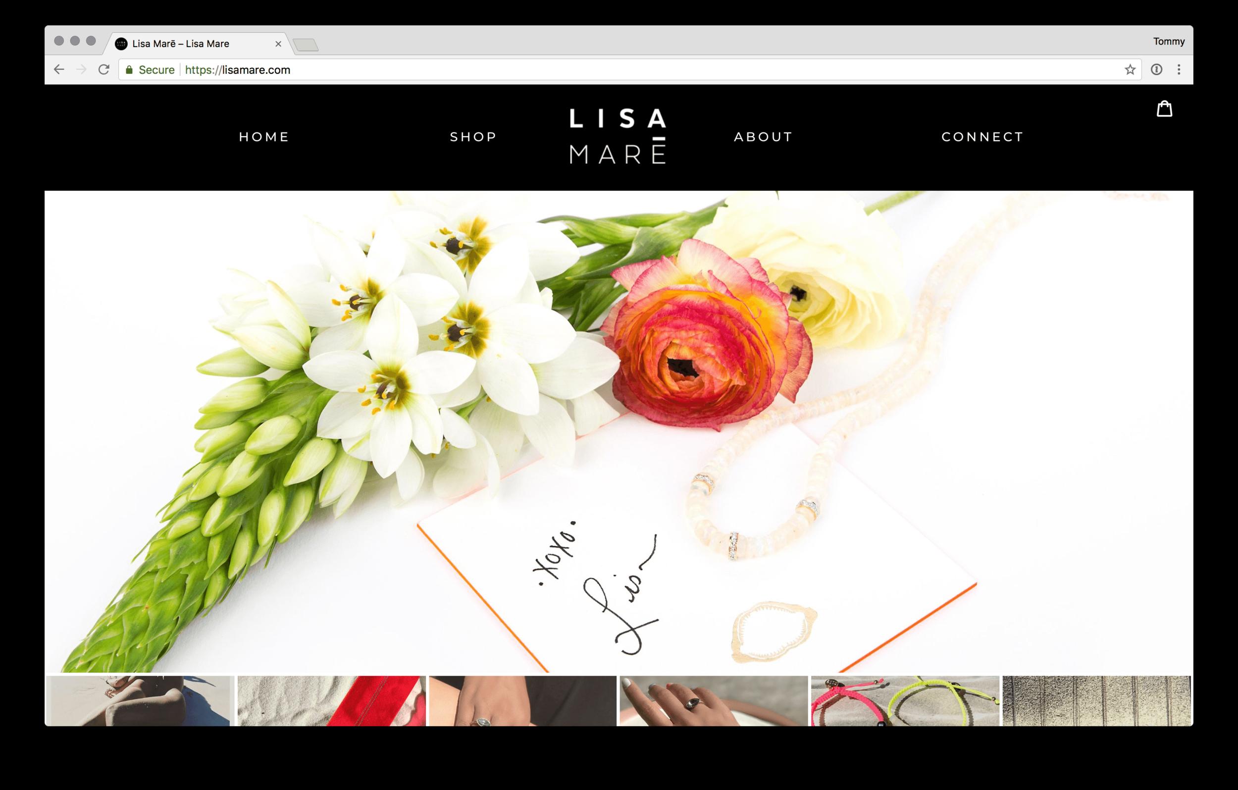 Lisa Maré Webstore