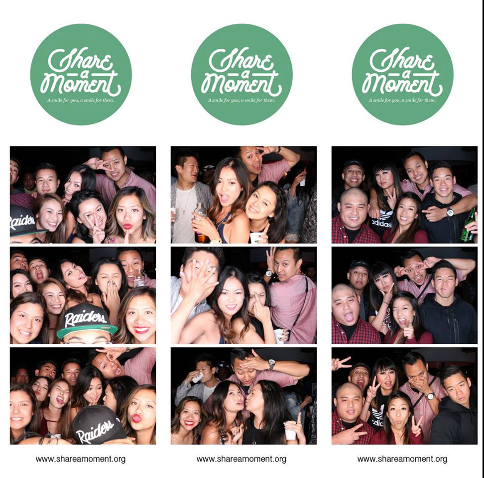 Share A Moment photo booth