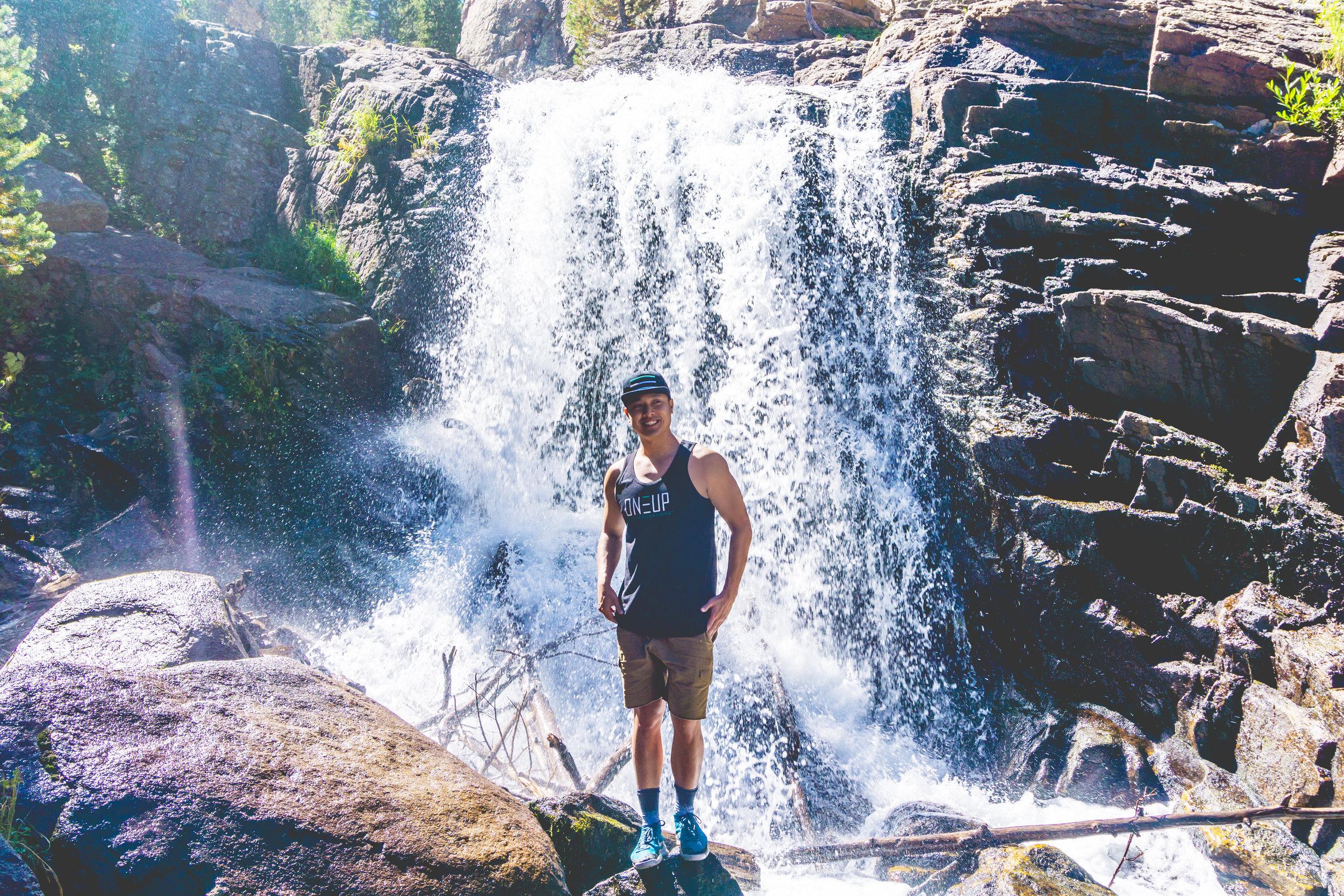 Always chasing waterfalls