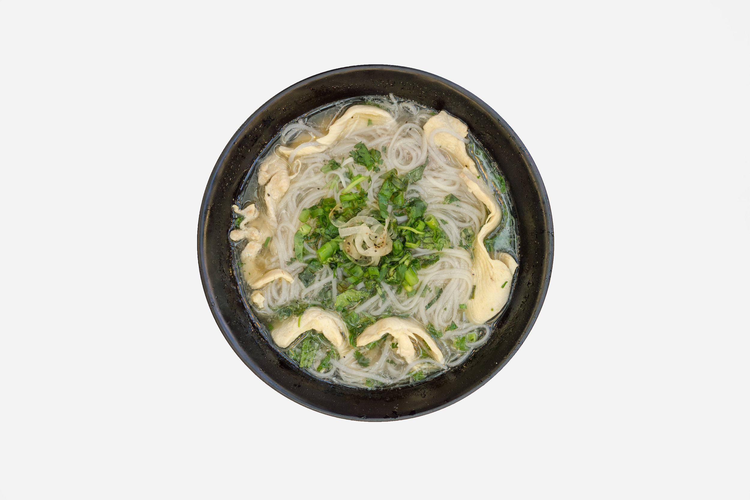 Chicken Pho: This rendition is catered towards the western palette and I'm not mad at all.
