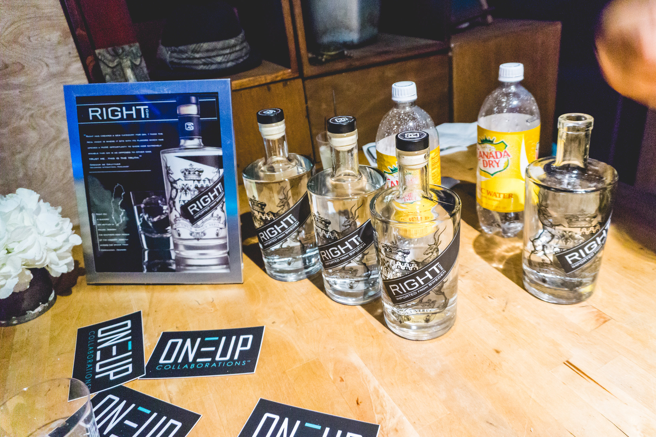 Shout out to Right Gin for the sponsor!