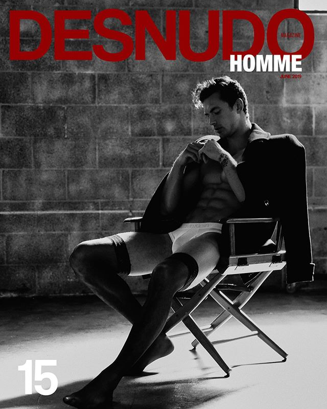 CHRISTIAN ✨ New cover shoot with @official_hogue for @desnudohomme • Photography @santiagobisso Styling #catwrightstyle Grooming @jennartist