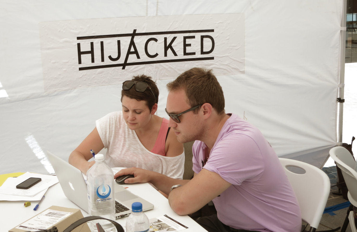 On campus research with real students was essential when preparing to launch Hijacked