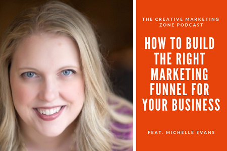 Michelle Evans - How to Build the Right Marketing Funnel For Your Business - The Creative Marketing Zone Podcast.png