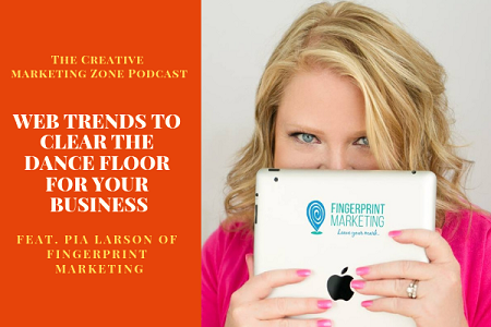 Pia Larson, Chief Imagination Officer and Founder of   Fingerprint Marketing