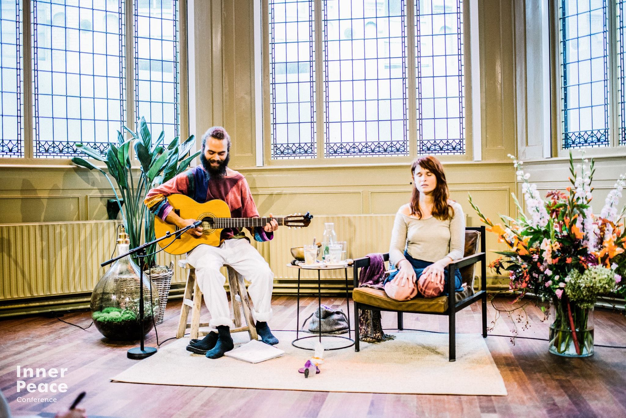 Inner Peace Conference Performance by Eli Kaiser and Molly Warner - Amsterdam, Netherlands, October 2017