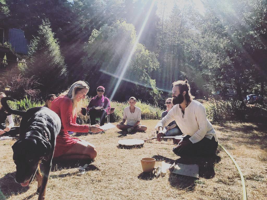 divine light energy healing shamanic training graduation.JPG