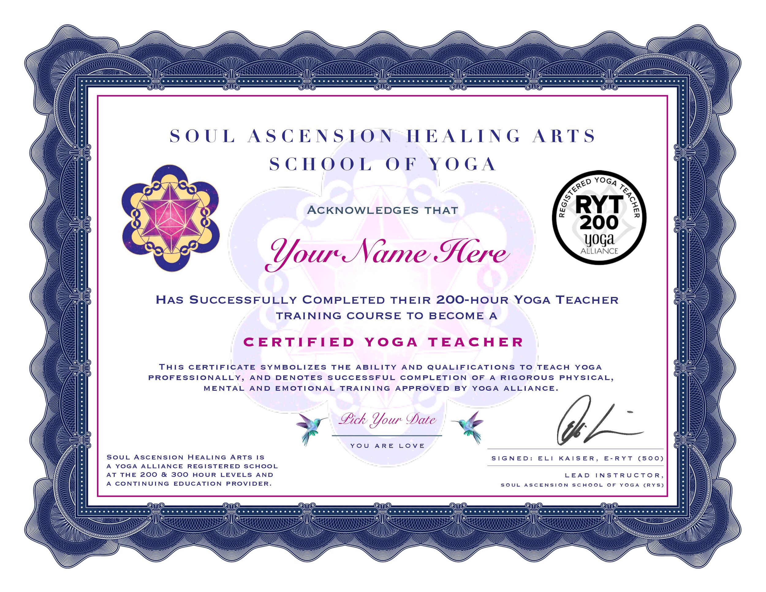 Affordable Online Yoga Teacher Training 200hr Ytt Registered Yoga Alliance School Soul Ascension Healing Arts