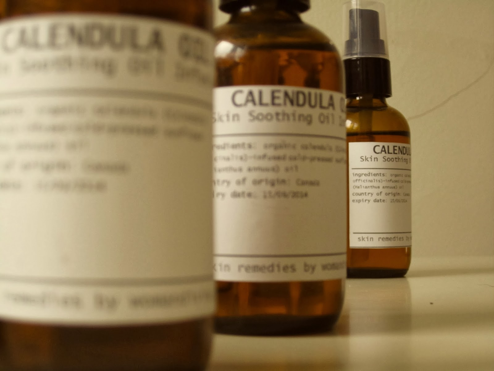 calendula oil at woman divine Ottawa