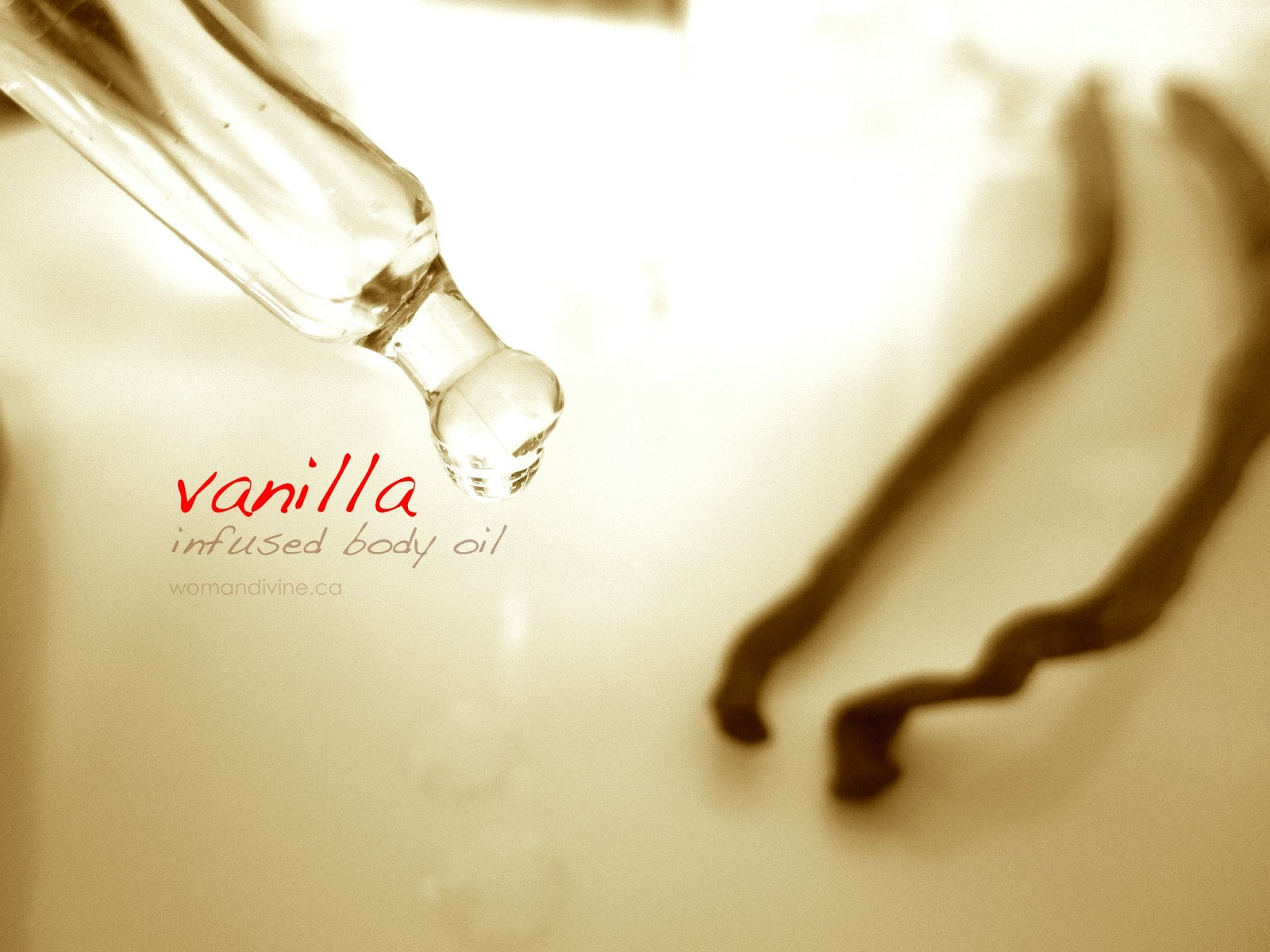 Vanilla body oil by Woman Divine
