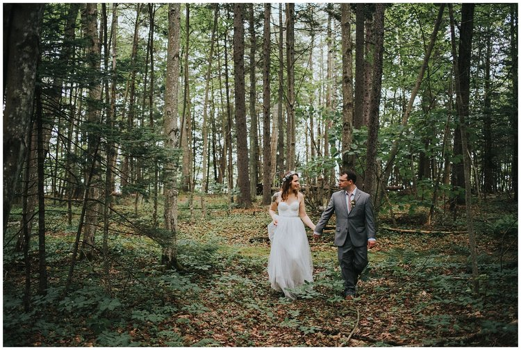 destination forest wedding