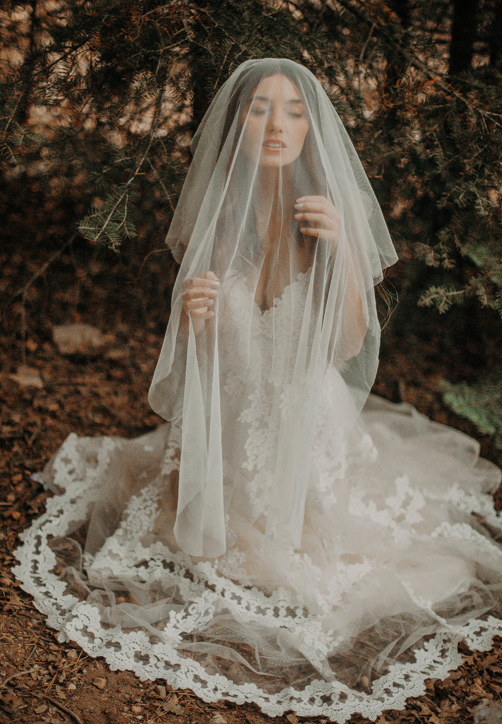 boho bridal veil by love sparkle pretty