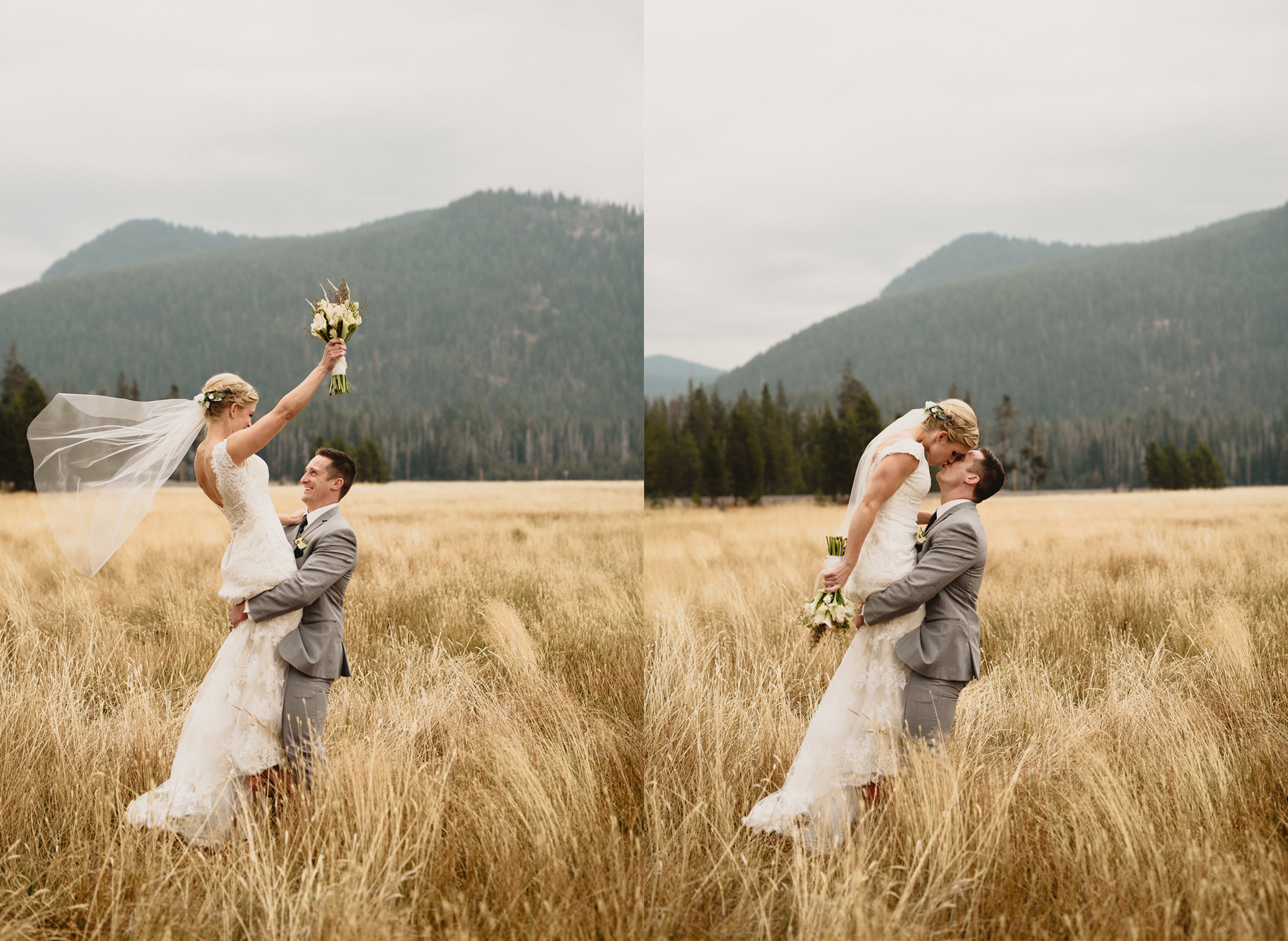 romantic oregon wedding