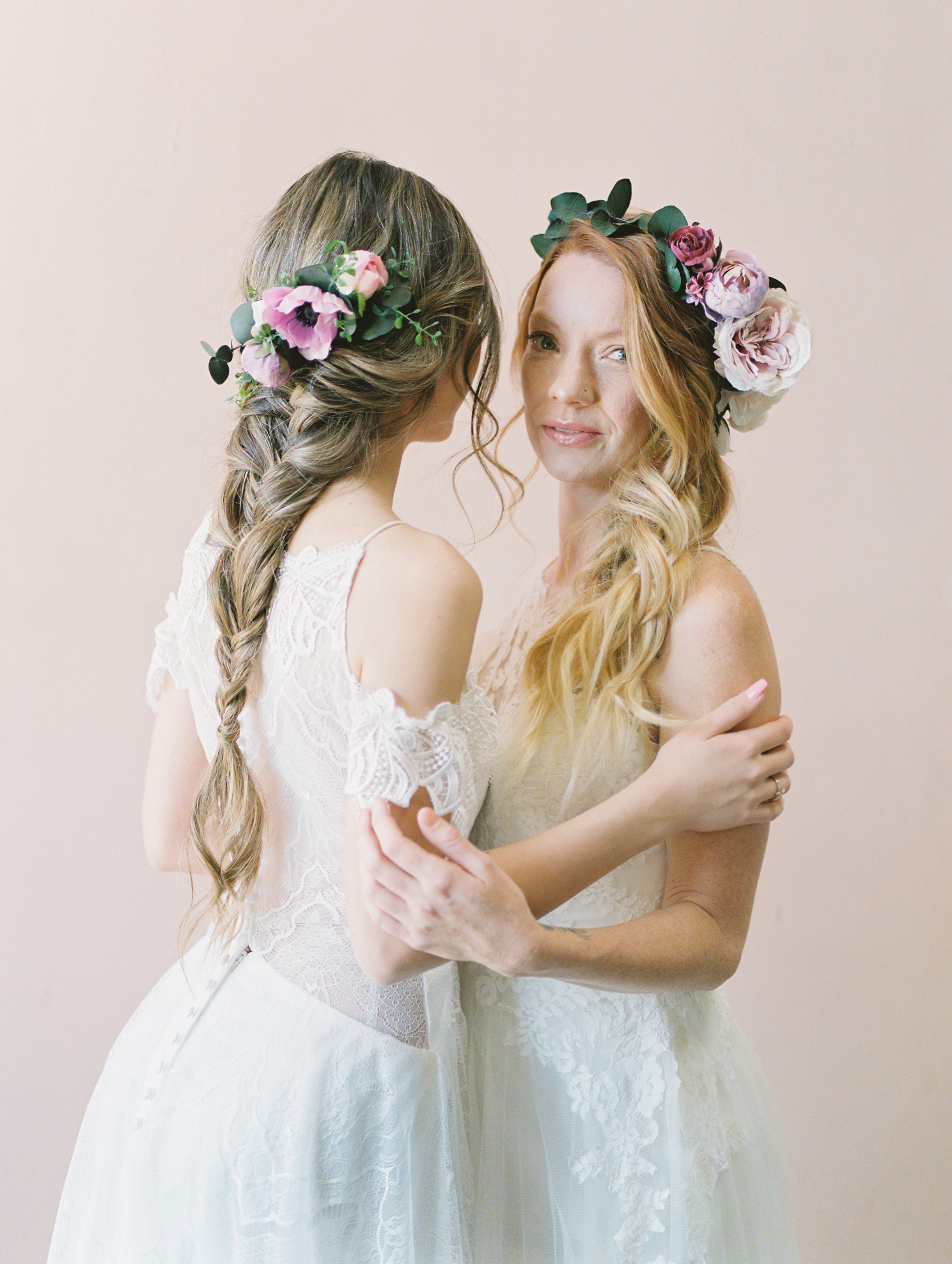 bridal hairstyles flower crown flower comb by love sparkle pretty