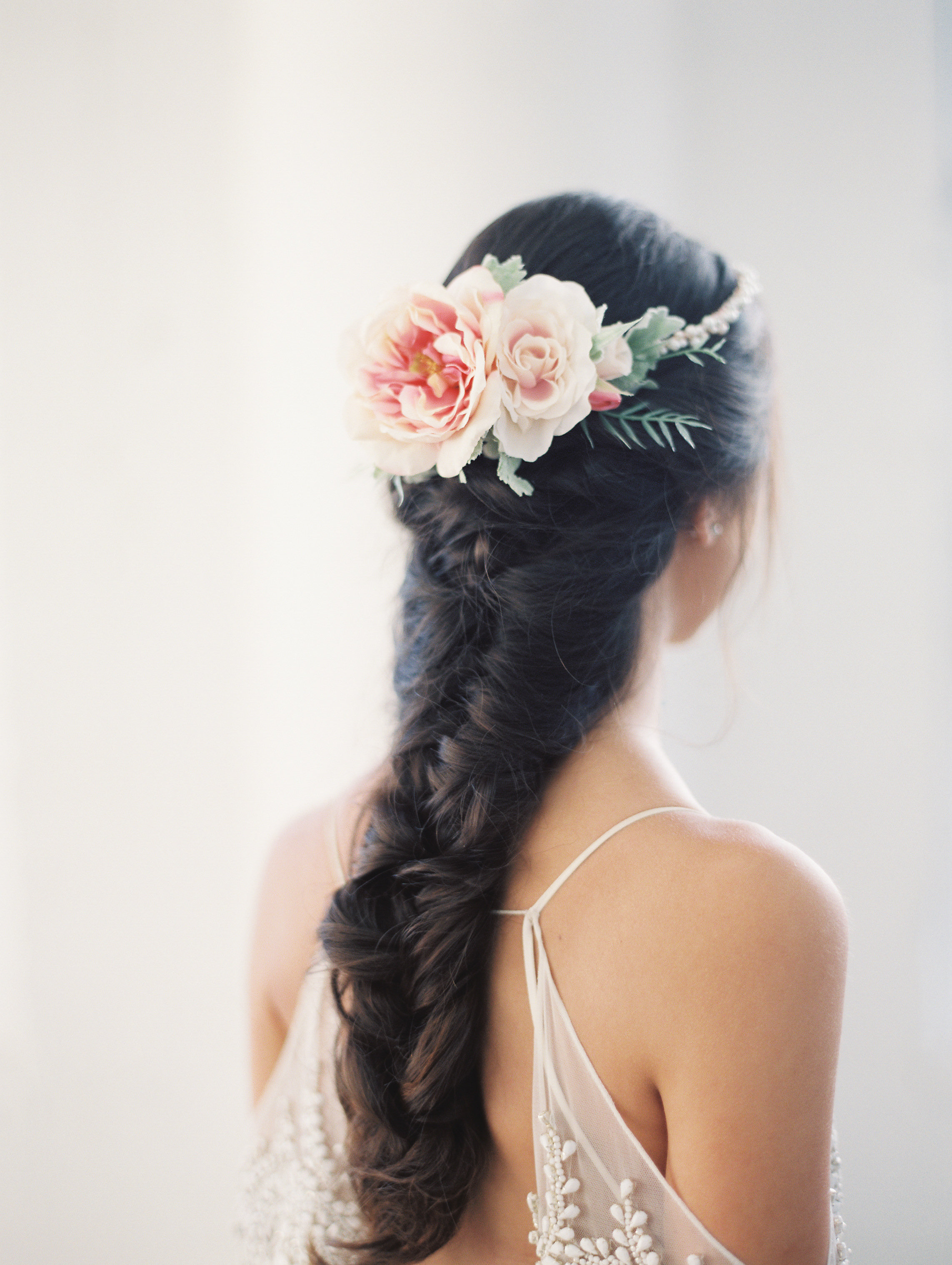 flower-crown-braided-bridal-hairstyle