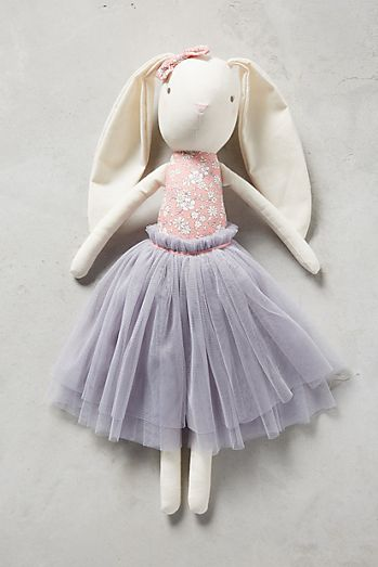 Ballerina Floral Plush Toy by Anthropologie