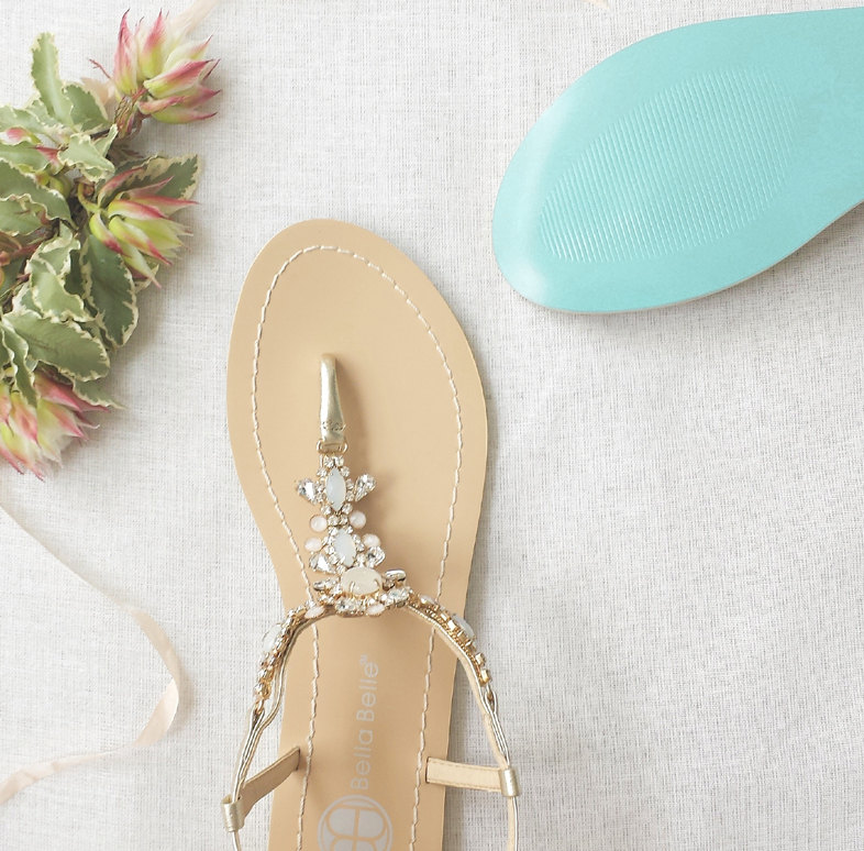 12 coastal wedding ideas beach bridal sandals