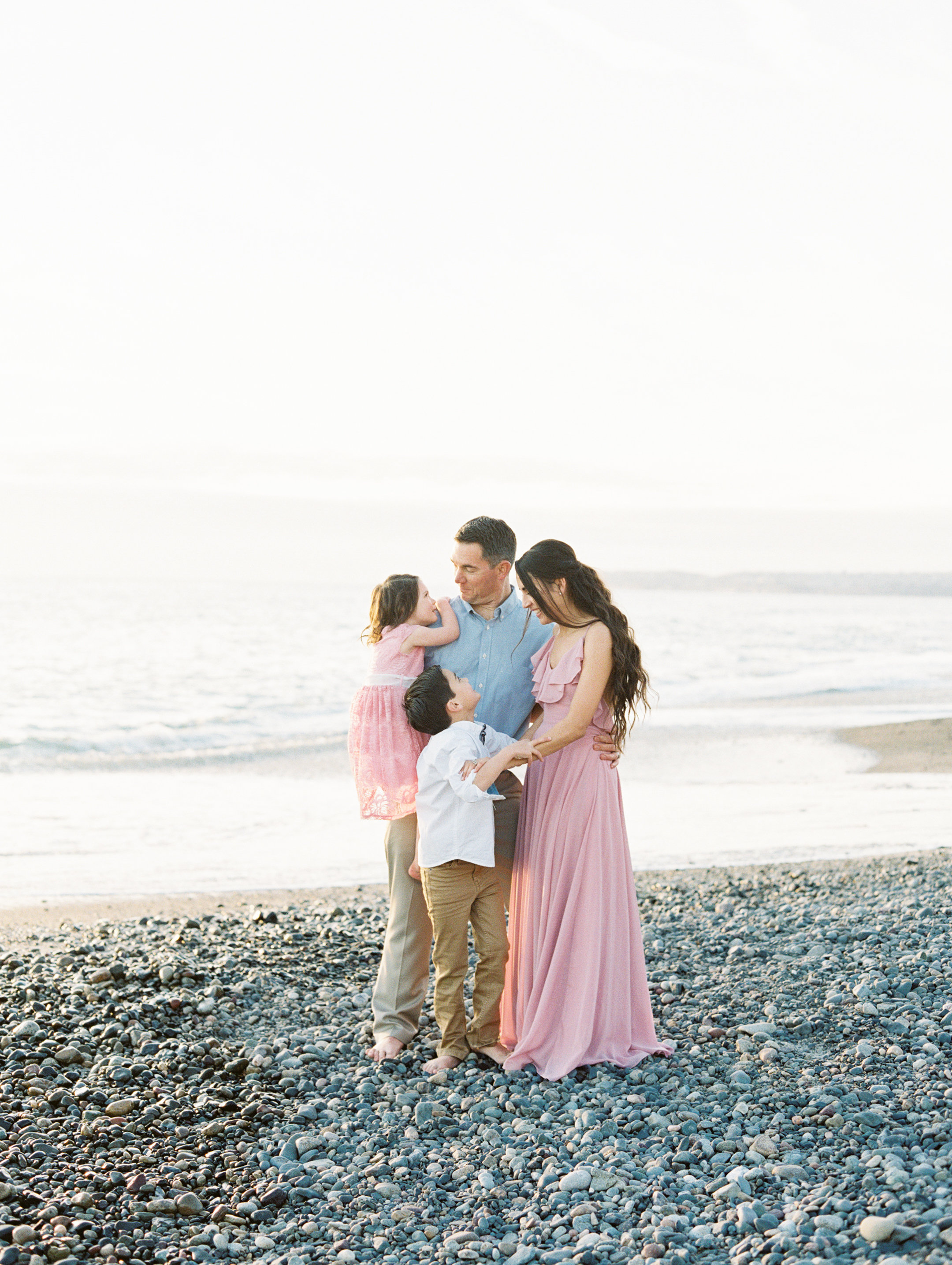 family photo shoot on the beach Love Sparkle Pretty blog. Photo by Mallory Dawn