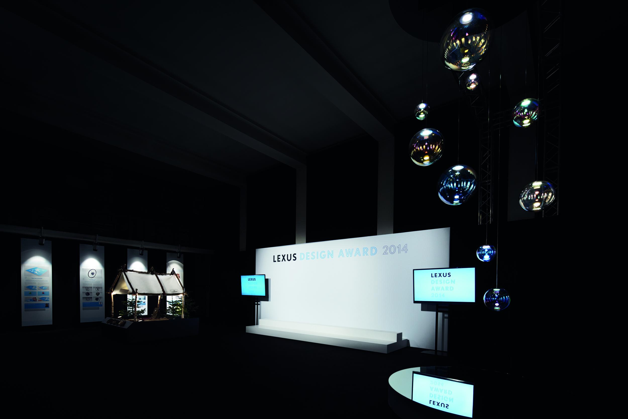 Lexus Design Award 2014 Venue