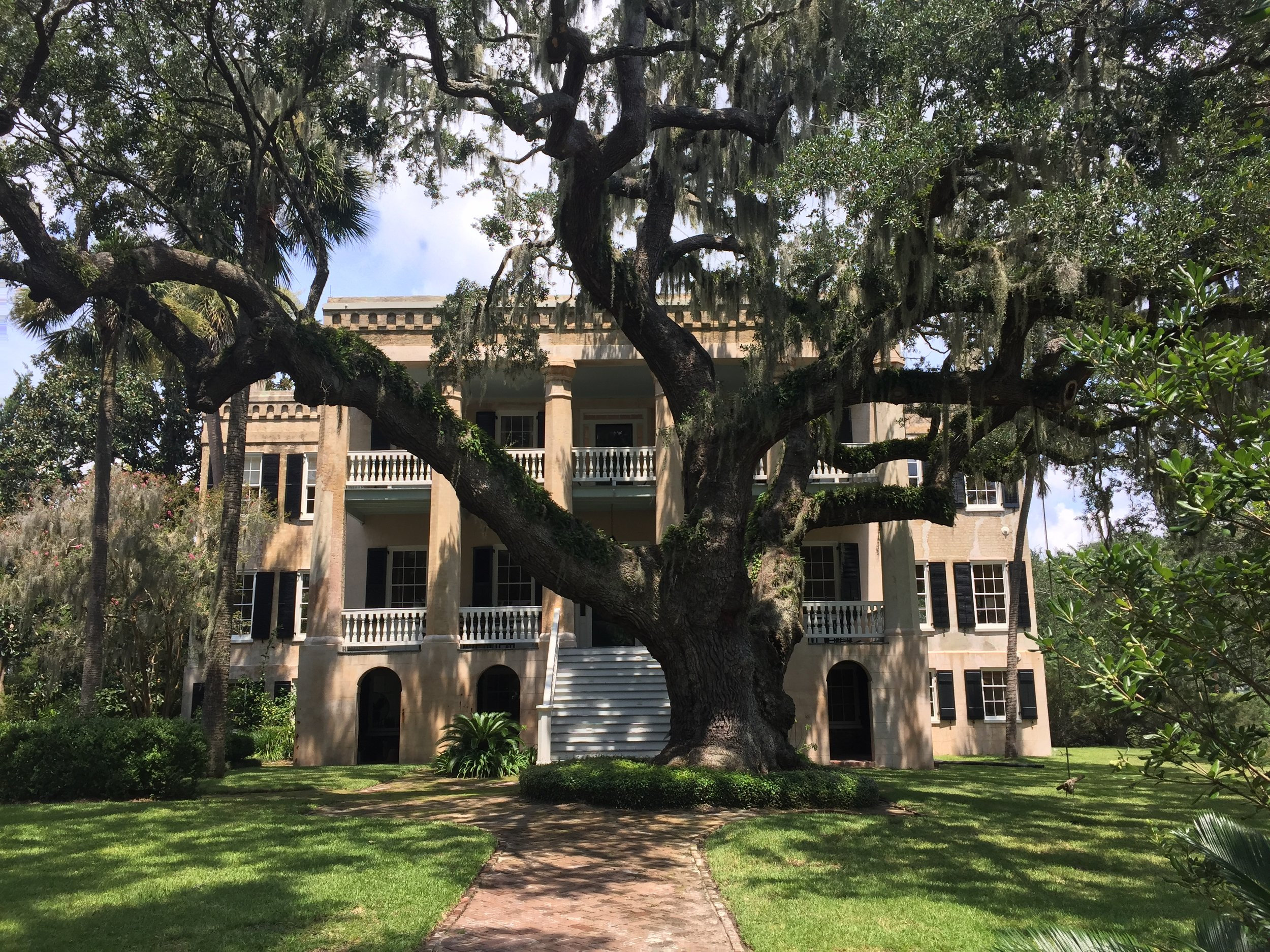"""Known as """"The Castle"""" in Beaufort, South Carolina.  Photographed shot by Stephanie (author) on vacation in Beaufort."""