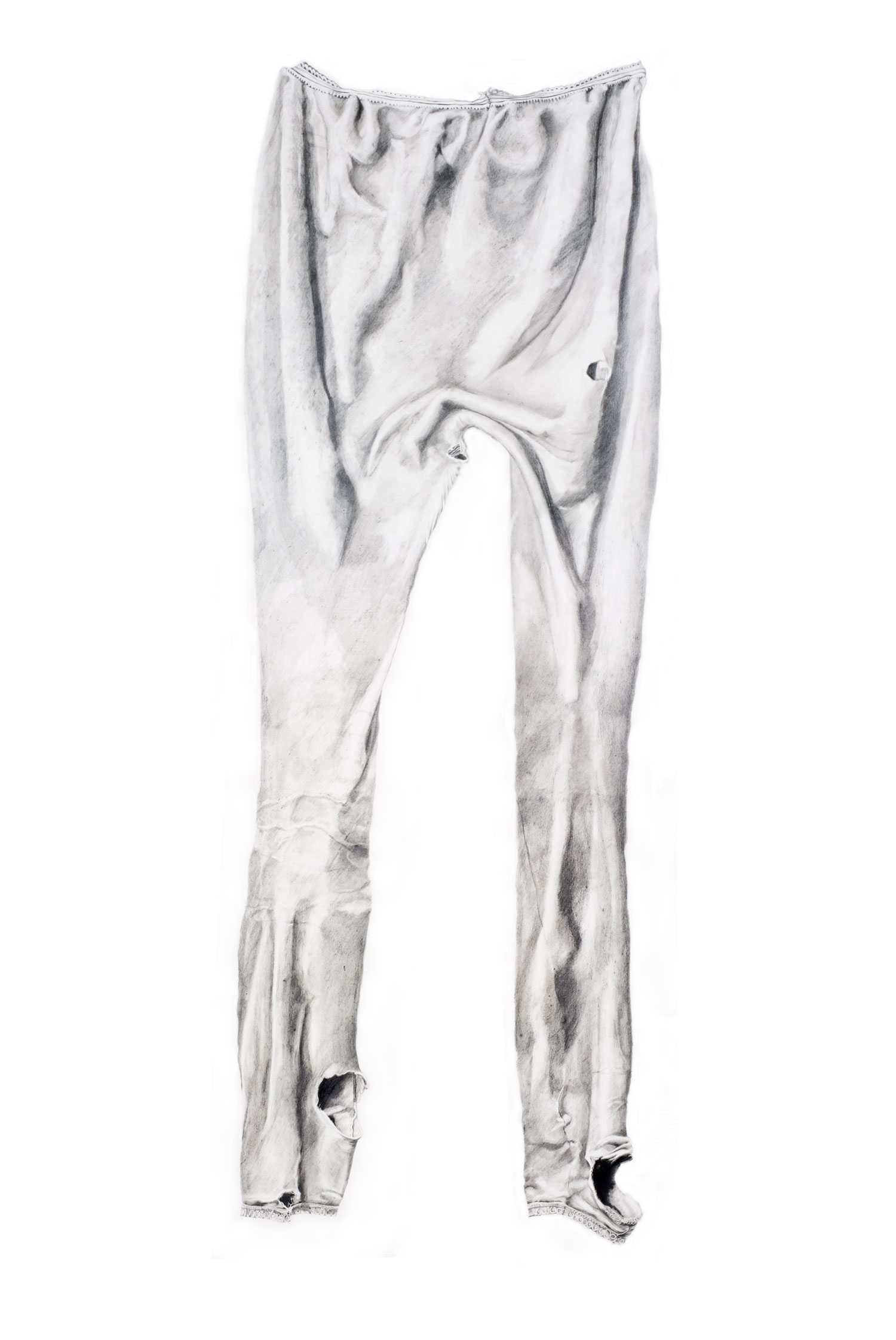 Long Johns   Materials:  Graphite on paper   Date of Creation:  2011