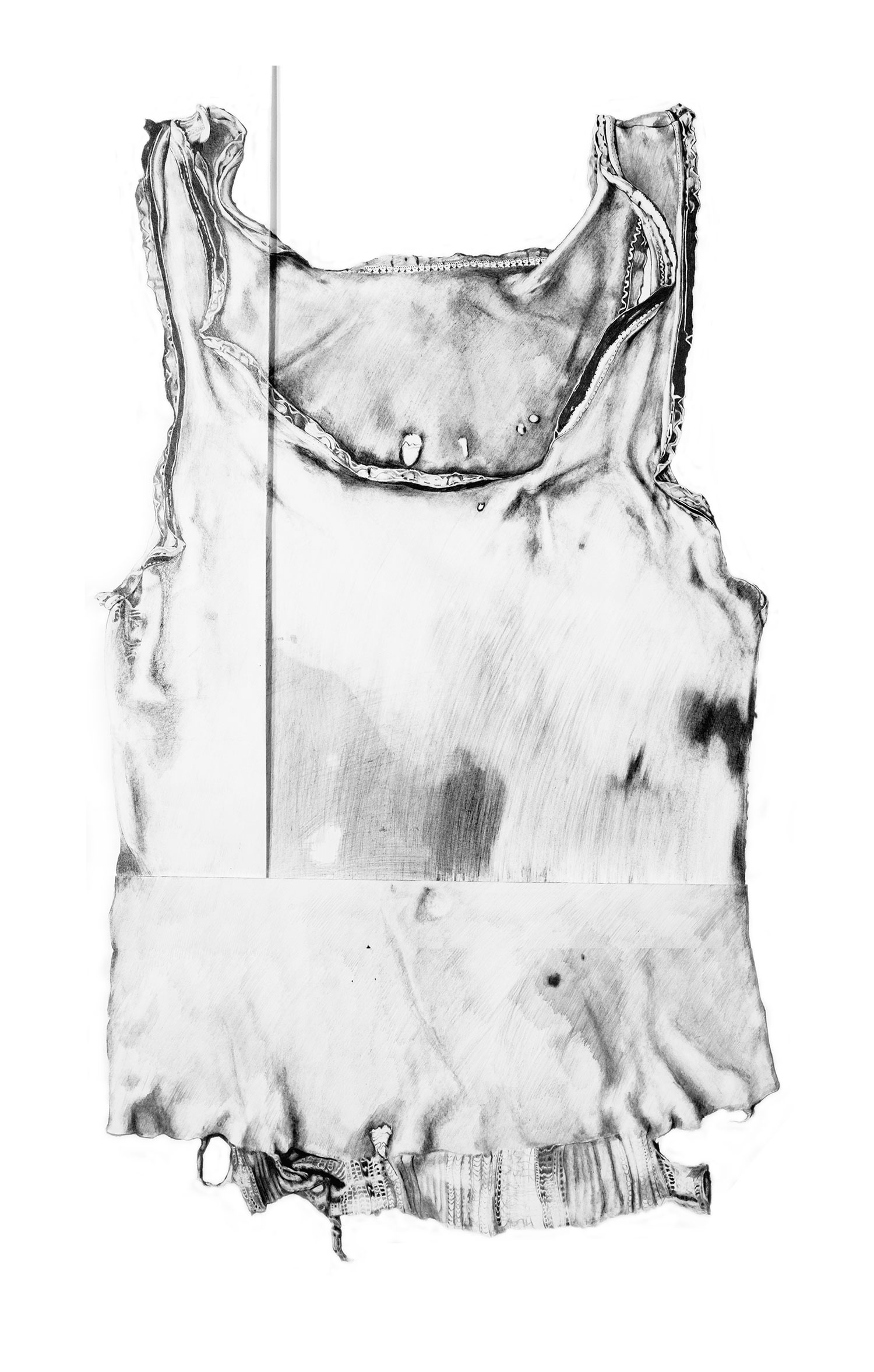 Singlet   Materials:  Graphite on paper   Date of Creation:  2006  Collection of Wardlow Art Residency