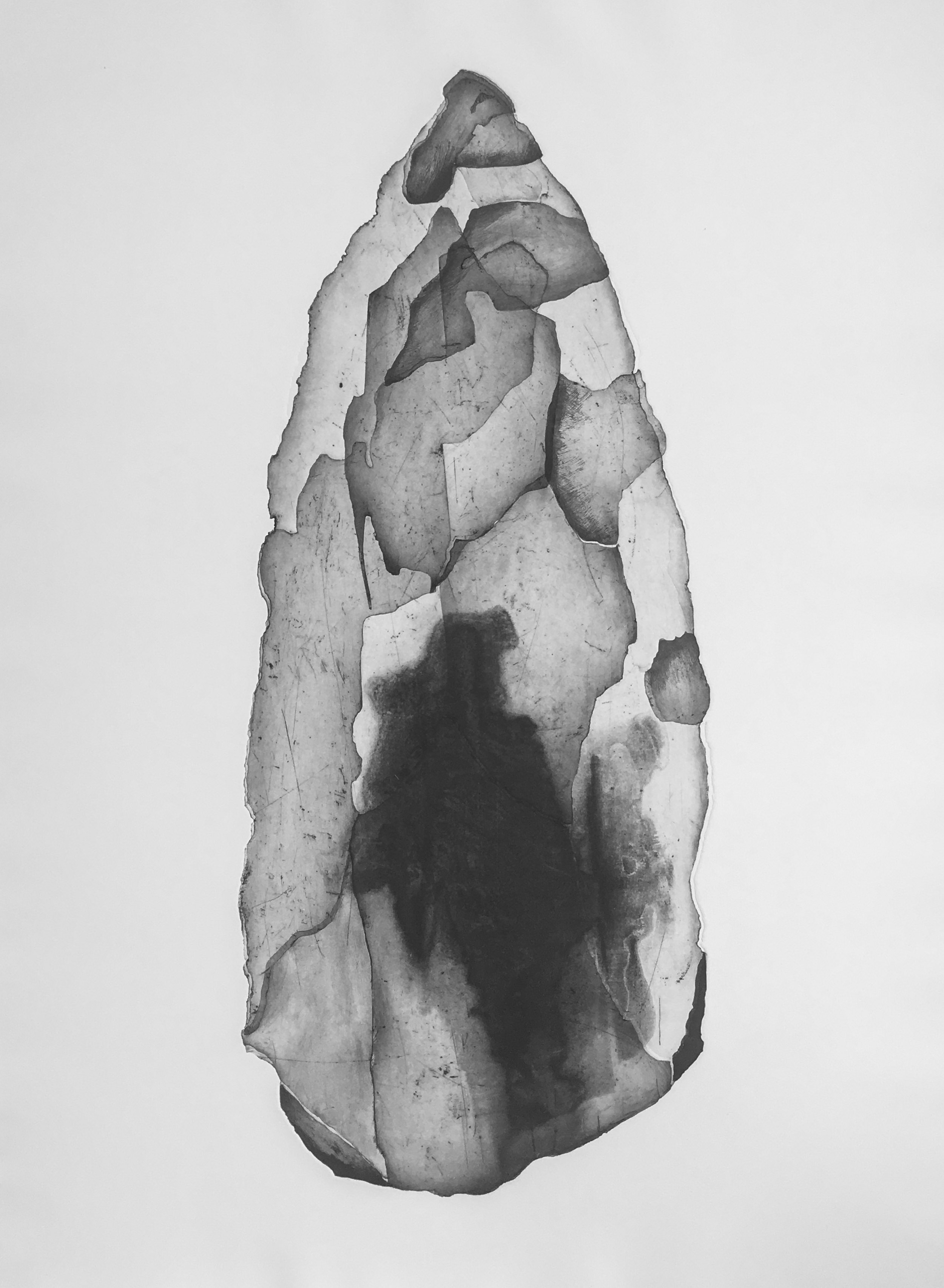 Worrorra Spear Tip, Vic Cox Collection
