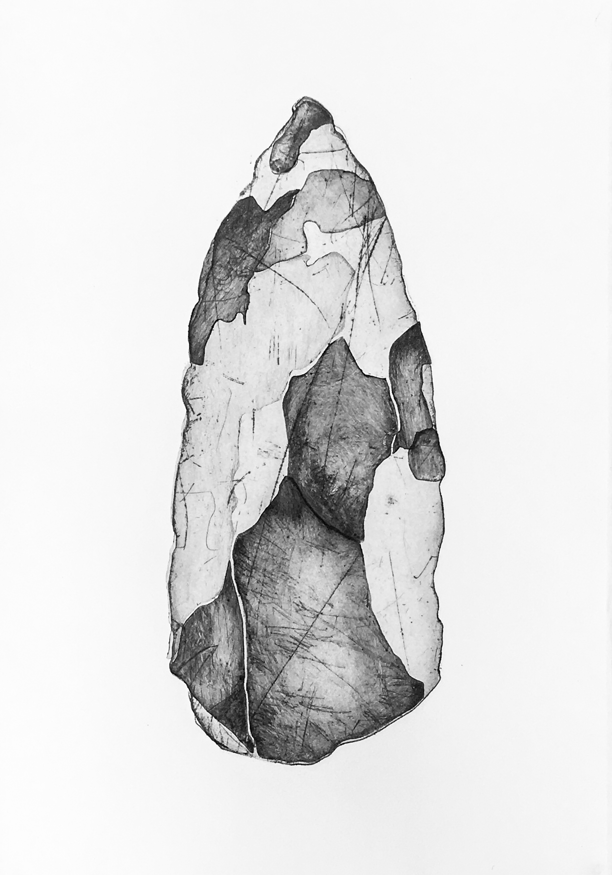 Copy of Worrorra Stone Tool, Vic Cox Collection