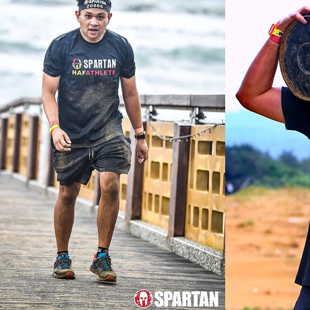why just run when u can get muddy & dirty? . #SpartanRace #SpartanRaceTW #HAFathlete #TeamBrunei #Taiwan