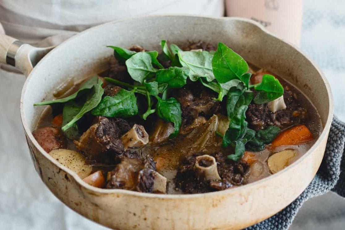 Warndu Mai's wallaby shanks recipe