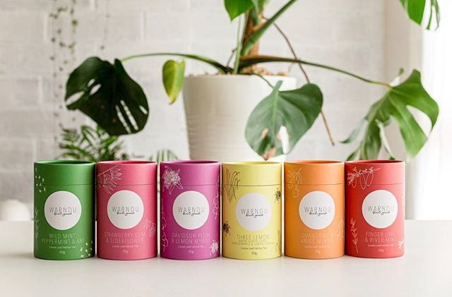 Wolf whistle. How hot is our new tea packaging. Bigger packs, better value, more eco packaging and super gorgeous to stare at! What do you think? Available in the shop now!! . . #newpackaging #tea #herbaltea #australiannativefood #gift #australianmade #indigenousbusiness