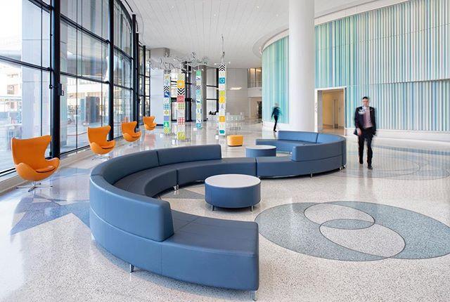 The recently finished University of Iowa Children's Hospital in Iowa City. . . . . . . #fordandbrown #architecturalnarratives #architecture #archdaily #universityofiowa #iowacity