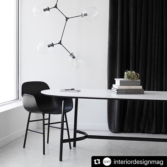 #Repost Over the last few days @interiordesignmag has been featuring our photos made in collaboration with @allsteel and @normarchitects styled by @coraminy ・・・ Park | A new collection for rethinking collaborative spaces. #Allsteel #NormArchitects #fordandbrown