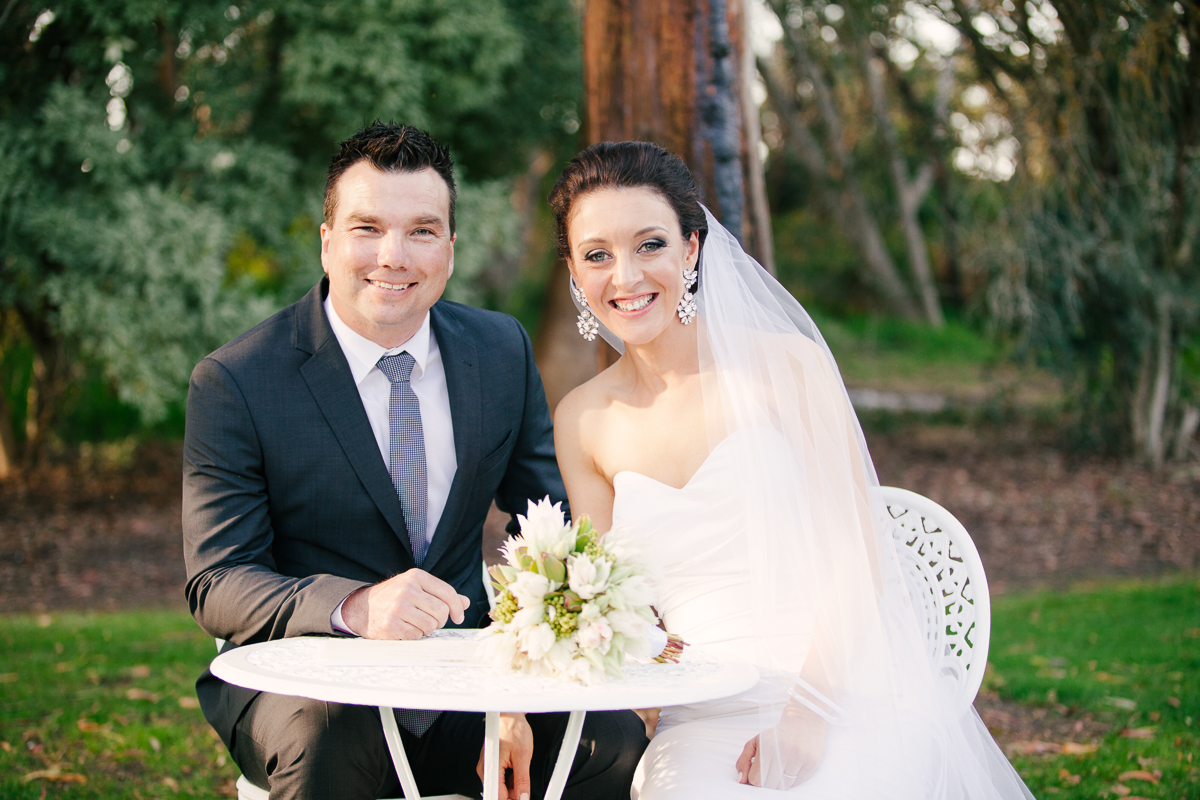 It's official – Mr and Mrs Bucher.