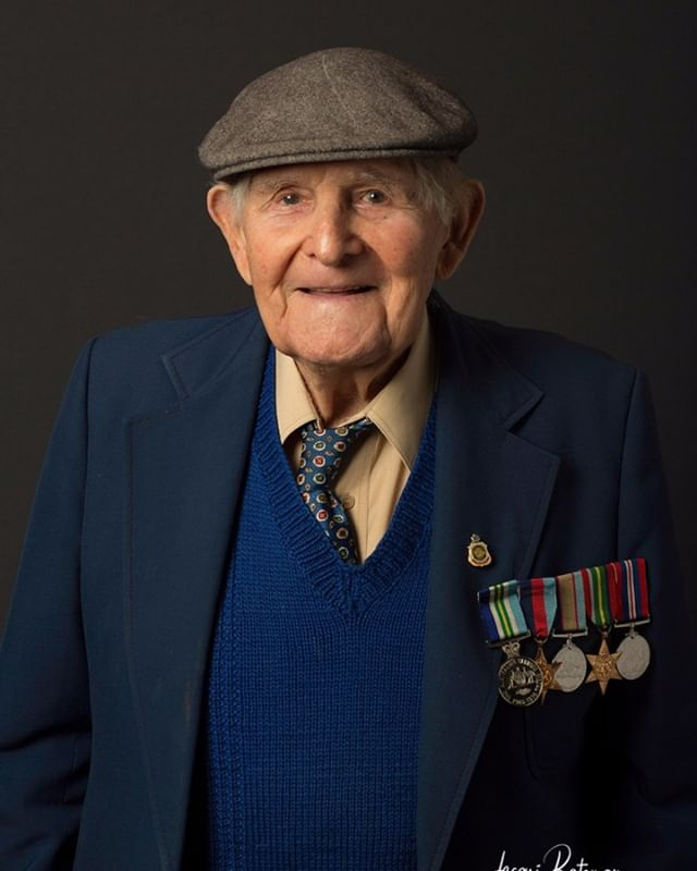 "On the lead up to Anzac Day, I thought I'd post some portraits of some of the WWII diggers I photographed for the 'Reflections' Project organised by the AIPP back in 2015.  In one of the most ambitious photographic projects to ever be undertaken in Australia, AIPP members from across the nation, volunteered their time to photograph WWII veterans 'to create a significant archive for the nation, that reflects a sensitive portrayal of their elderly state and profide a cognistant comparison to the wartime images of young active men and women'. 450 AIPP photographers took over two years to produce the 6,500 strong portrait collection, which sits proudly in the nation's capital, Canberra, The Australian War Memorial having become the new custodian of these images. ""Looking into the faces of this remarkable generation of Australians now leaving us, is an emotional experience.  They mobilised to defend us when our vital interest were at stake and gave their you and their all for us"" Dr Brendan Nelson, Director, Australian War Memorial, Canberra.  Syd Kirkland, late of Robe, joined the 9/23rd Light Horse, then the 2/12 armourned regiment before being posted to join the 2/9th armoured for training in Queensland.  He reached the rank of Sergeant and was posted to the officer cadet training unit at Woodside with the temporary rank of warrant officer.  The Australian War Memorial in Canberra, has now become the proud custodian of the 6,500 photographic portraits taken during the Reflections Project, of our WWII diggers.  #anzac #anzacday #lestweforget #sacrifice #adf #australiandefenceforce #wwii #legends"
