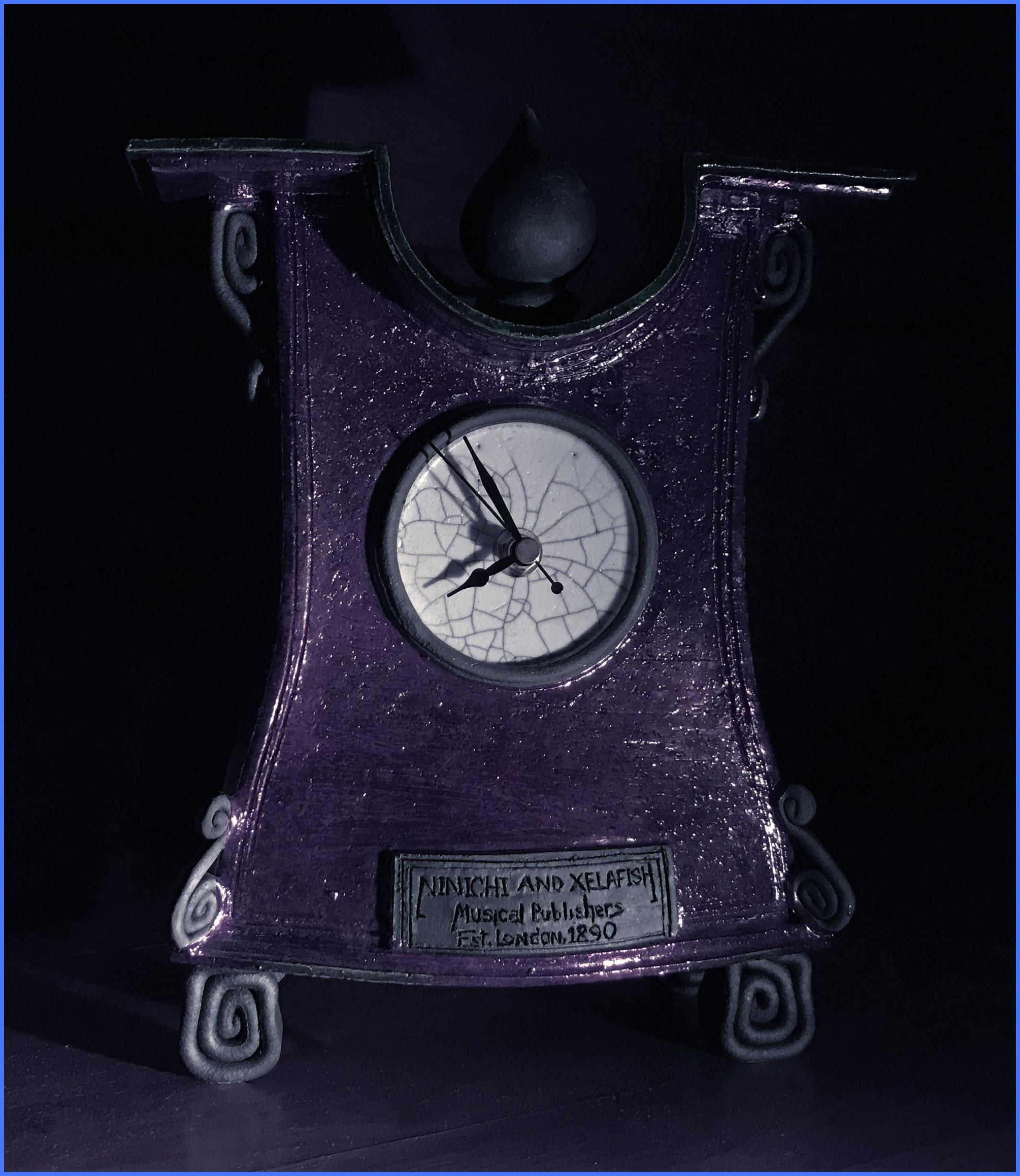 The Rakukyra Clock of Ninichi and Xelafish, London, 1890.