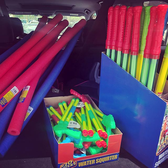 Summer camp preparations!! Getting excited for Ninja Camp #summer #summercamp