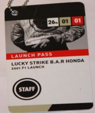 Lucky Strike F1 Launch