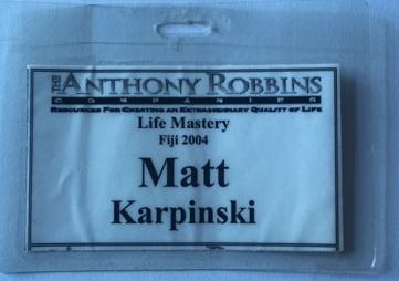 Tony Robbins Life Mastery Fiji