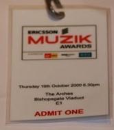 Ericsson Muzik Awards