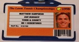 The Wimbledon Lawn Tennis Championships