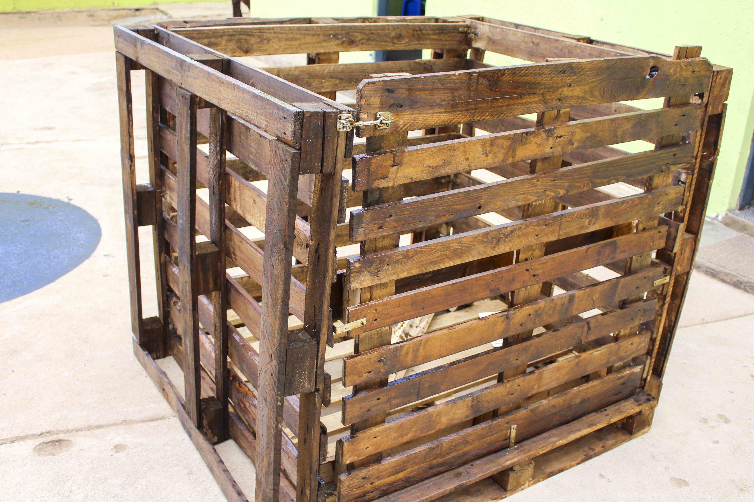 Building compost bins