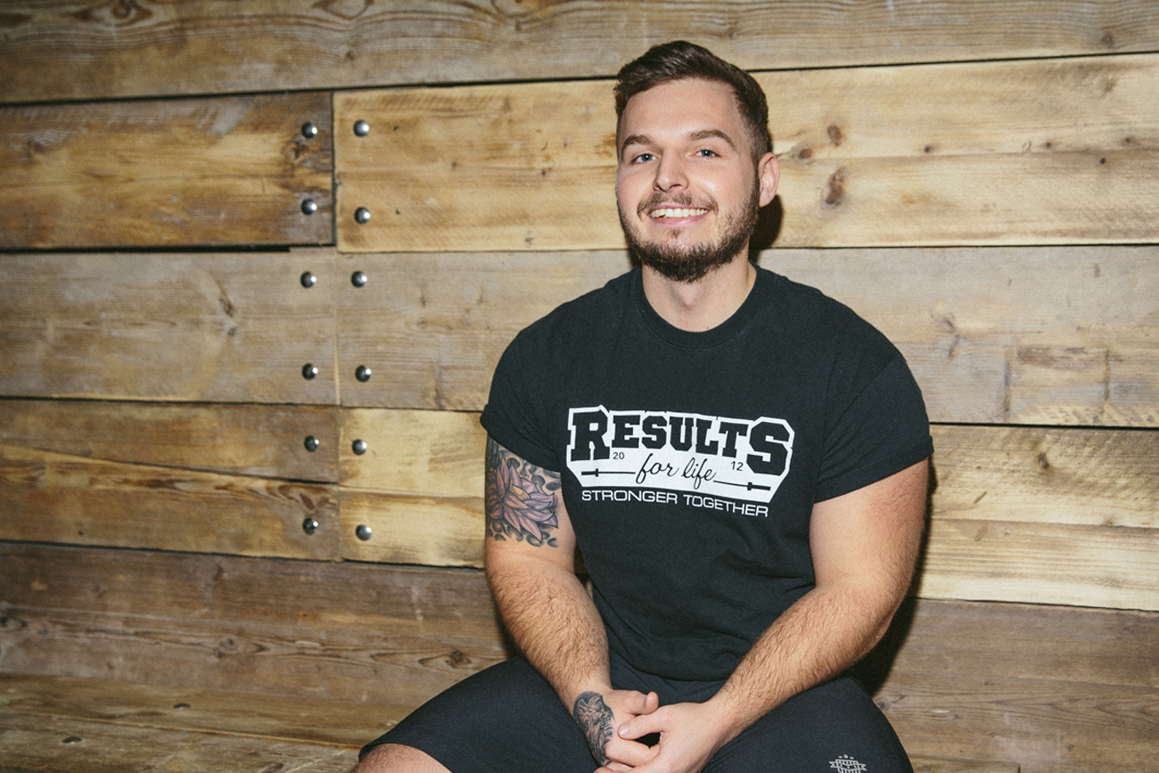 Josh Pearson, co-founder of Results For Life