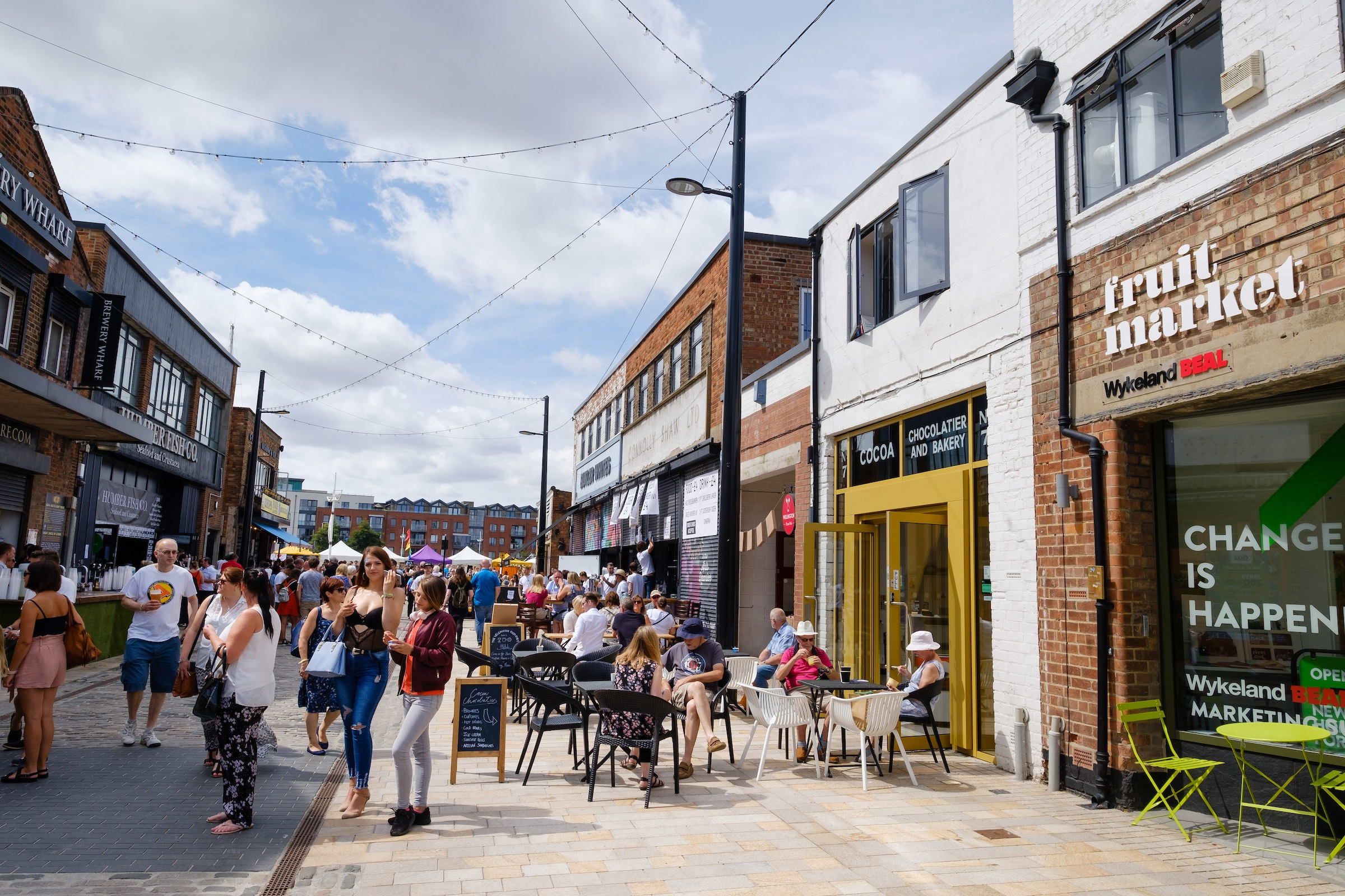 All of the Fruit Market will be a hive of activity at this year's Humber Street Sesh, with traders supporting the drive to make the festival more eco-friendly.