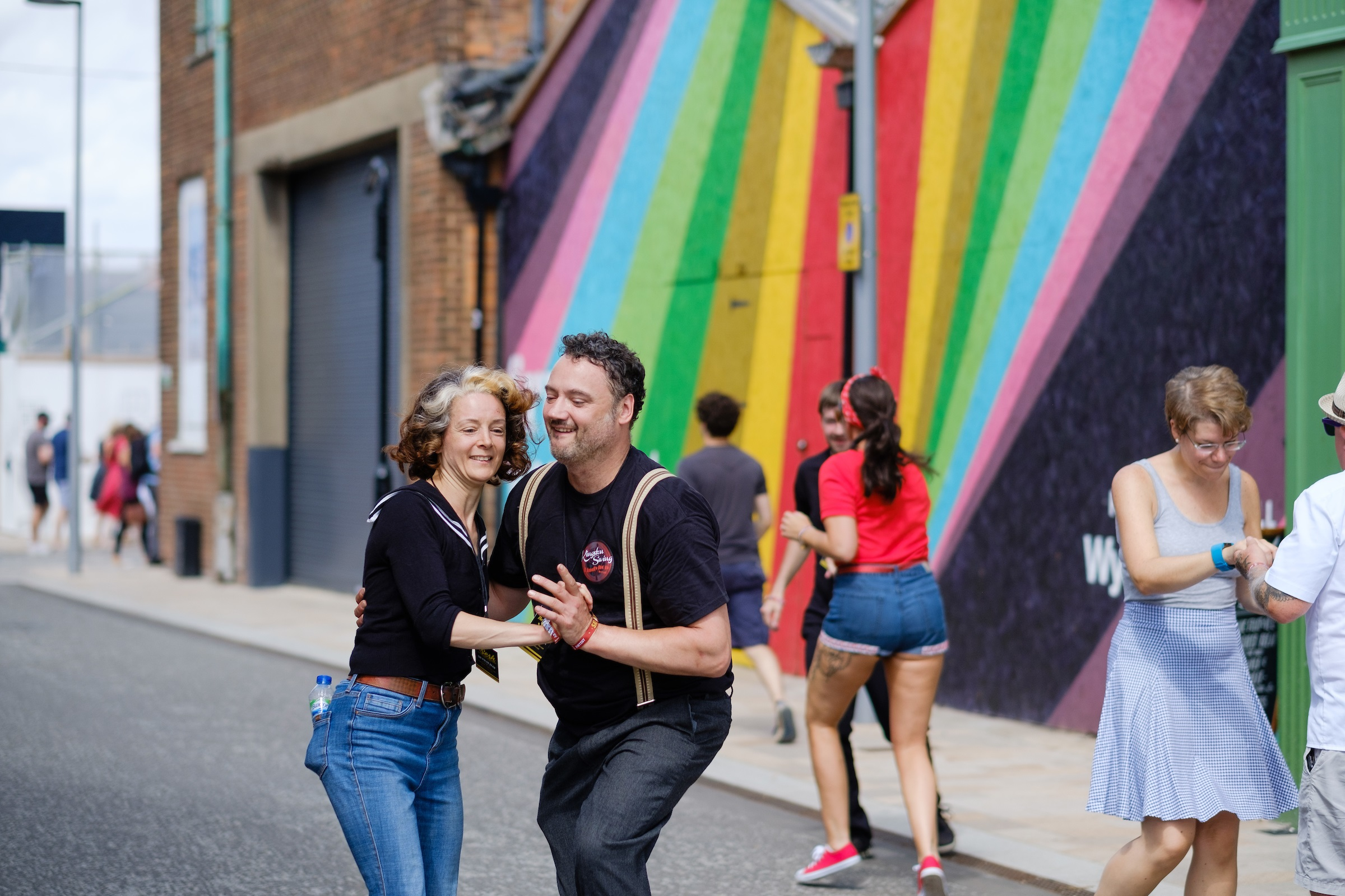 Festival-goers get into the Sesh spirit at last year's event. This year organisers are aiming to make it the greenest Humber Street Sesh yet.