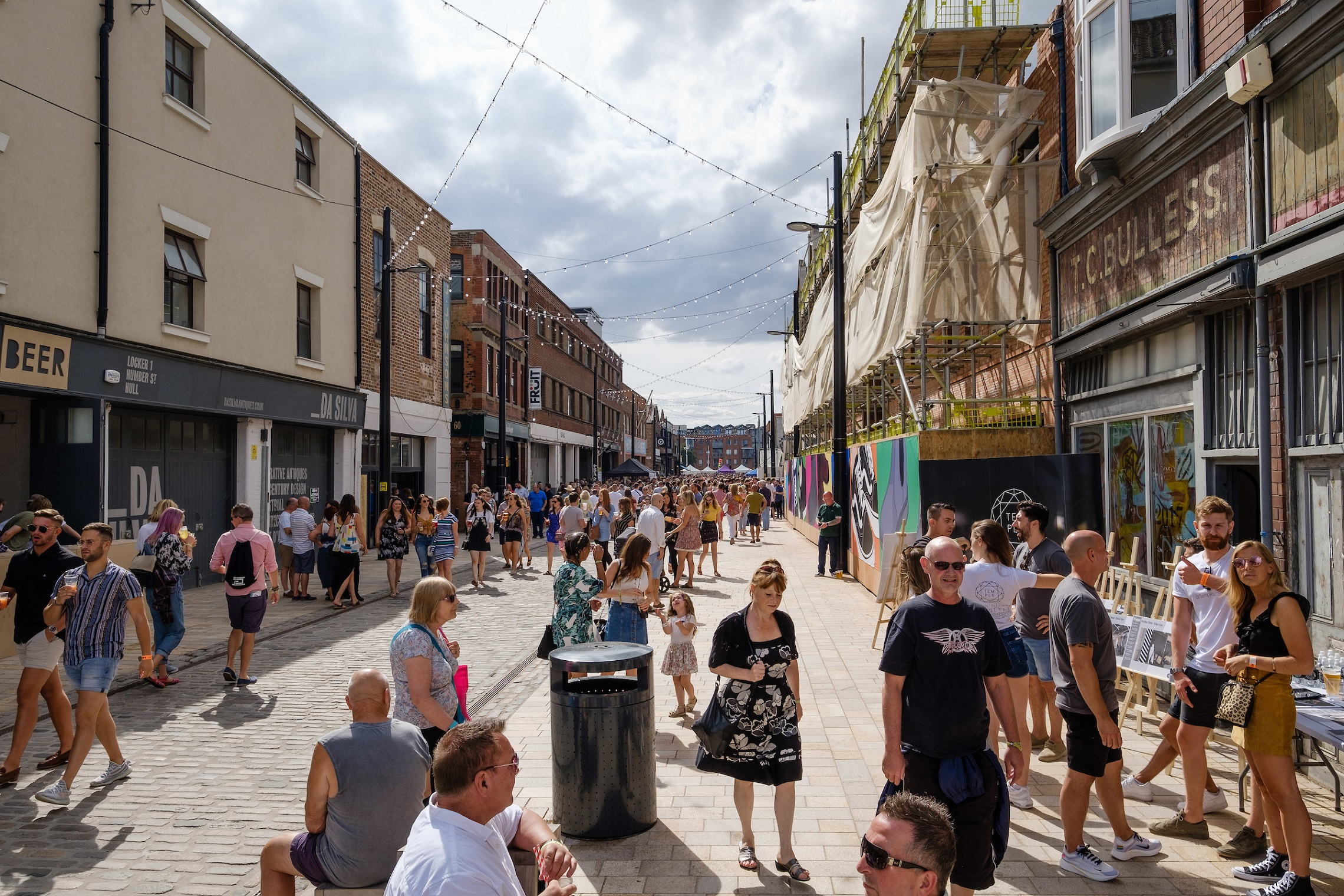 Organisers are urging festival-goers to ditch single-use plastic at this year's Humber Street Sesh.