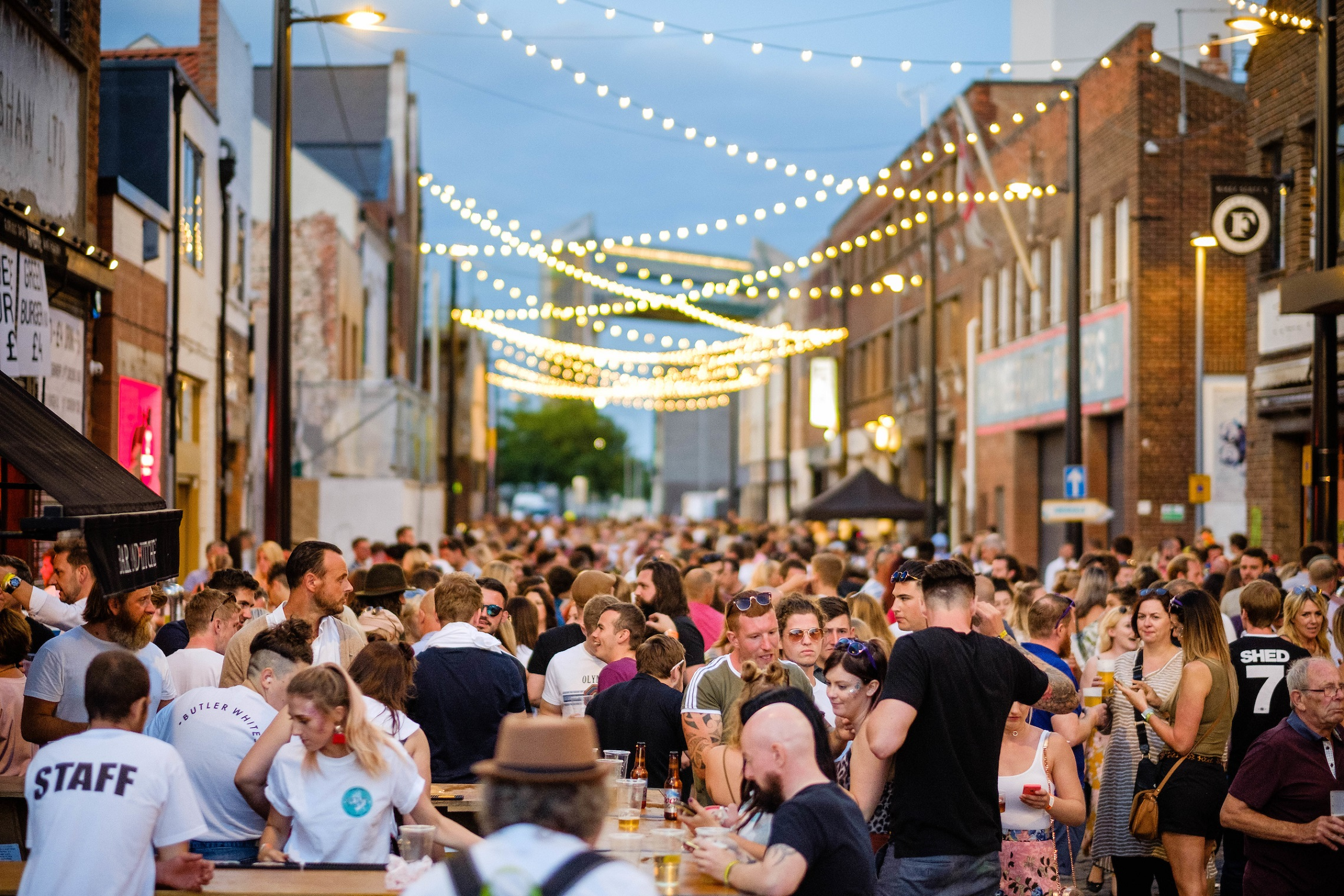 Crowd numbers for this year's Humber Street Sesh are expected to rival the 32,000 who attended the festival in 2018.