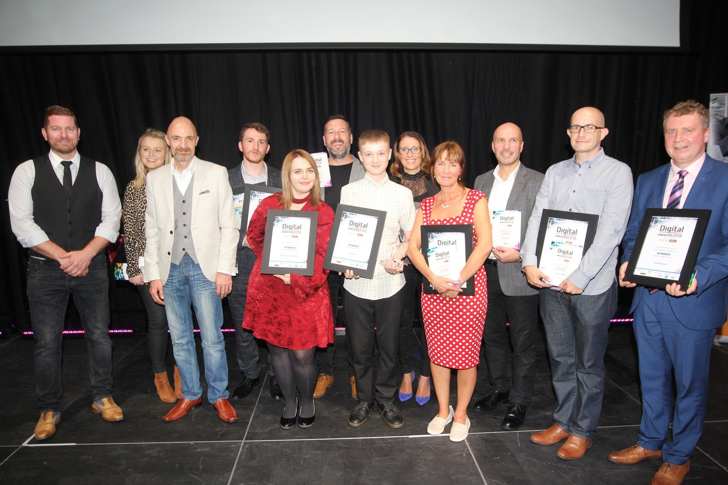 Last year's HEY Digital Awards winners.