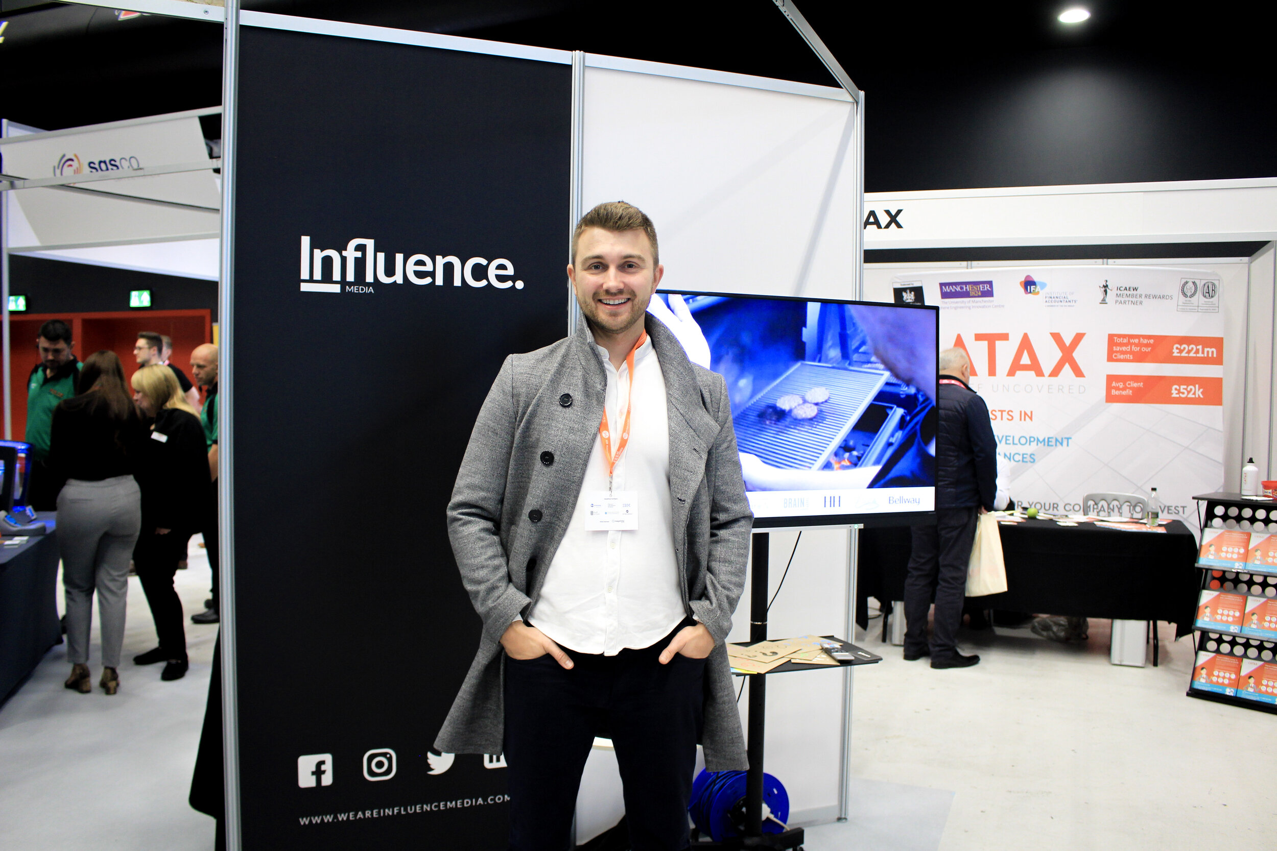 Luke Thornton, Influence Media