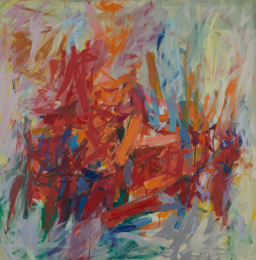 Red Shelf, c. 1960s, Oil on Canvas